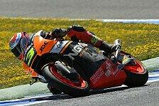 Moto2 - Cortese fliegt ab: Corsi f�hrt erstes Moto2-Training an