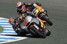 Moto2 - L�thi und Folger in den Top-4: Rabat trotz Schmerzen an der Spitze