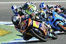 Moto3 - Rins und Vinales nach hartem Kampf auf dem Podest: Miller feiert dritten Saisonsieg