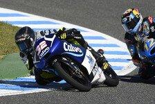 Moto3 - �ttl auf Rang zwei: Vinales Schnellster in feuchtem Warm Up