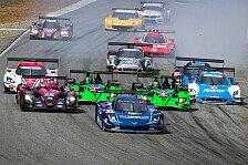 USCC - Porsche verliert GT-Podiumsplatz: LMP2-Sieg in Monterey