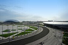 Formel 1 - Zus�tzliche Trib�ne: Sotschi: Strecke zu 99% fertig