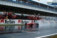 Formel 1 heute vor 24 Jahren: Schumacher, der Regenmeister