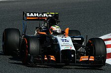 Formel 1 - Abtrieb wie in Monza: Turbo-Perez: Mehr Fehler in Monaco erwartet