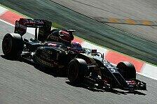Formel 1 - Hoffentlich geht es jetzt nach vorne: Verlorene Testkilometer schmerzen Lotus noch immer