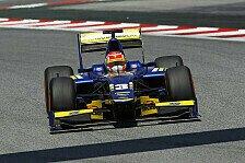 GP2 - Palmer & Dillmann auf dem Podest: Erster GP2-Sieg f�r Felipe Nasr