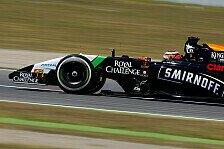 Formel 1 - P11 gute Ausgangsposition: H�lkenberg: Punkte sind in Reichweite