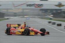 IndyCar - Hunter-Reay strauchelt: Saavedra erzielt seine erste Pole Position