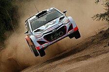 WRC - F��e bleiben trotz Sieg auf dem Boden: Hyundai: Kein H�henflug vor Australien
