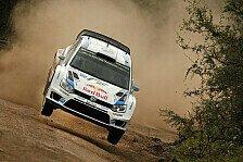 WRC - Der Teamkollege als h�rtester Rivale: Sardinien: VW verspricht spektakul�ren Zweikampf
