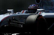 Formel 1 - Massa patzt auf schneller Runde: Bottas nutzt Williams-Pace f�r Reihe zwei