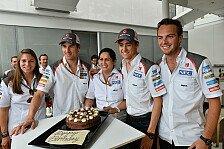 Formel 1 - Timeline: Saubers Fahrer-Chaos