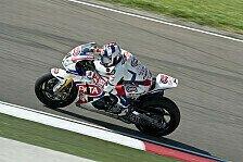 Superbike - Eine Sekunde langsamer: Haslam ist frustriert