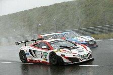 ADAC GT Masters - MRS-McLaren bei der GT-Regatta: Erster Start des MRS-McLaren bei nasser Strecke