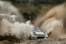 WRC - Volkswagen gehen die Superlative aus: Latvala baut Argentinien-F�hrung aus