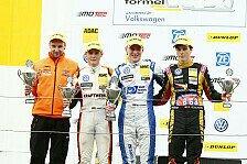 ADAC Formel Masters - Grund zum Feiern: Start/Ziel-Sieg f�r G�nther in Zandvoort