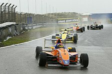 ADAC Formel Masters - Dienst gewinnt Regen-Rennen in Zandvoort