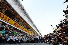 Formel 1 - Silber �berrundet Rot: Spanien GP - Team f�r Team
