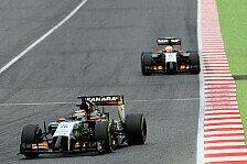 Formel 1 - Barcelona keine Force-India-Strecke: H�lkenberg: Klarer Fall von Schadensbegrenzung