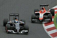 Formel 1 - Sie brauchen ein bisschen Gl�ck: Chilton schreibt Sauber nicht ab