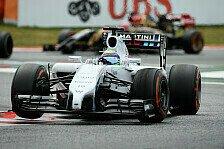 Formel 1 - Holt Renault auf?: Topspeeds in Barcelona: Massa, wer sonst?