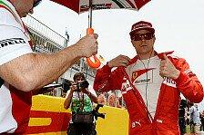 Formel 1 - Gespr�ch mit Montezemolo und Co.: R�ikk�nen: Besuch beim 2015er Ferrari