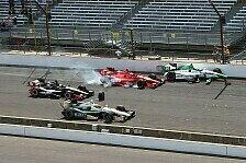 IndyCar - Video: Heftiger Startcrash in Indianapolis