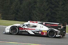 WEC - Zwei Karosserievarianten in Spa im Vergleich erprobt: Audi entwickelt komplexe Aerodynamik f�r Le Mans