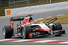 Formel 1 - R�ikk�nen mit Motorproblem & Buemi abgeschleppt: Spanien-Test, Tag 1: Marussia mit Bestzeit