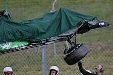 Formel 1 - Schaden zu massiv: Caterham verzichtet auf zweiten Testtag