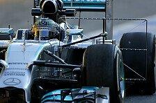Formel 1 - Von allem ein bisschen: Technik-Trends aus Spanien
