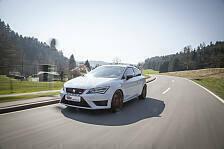 Auto - Bis zu 65 Millimeter tiefer: Gewindefahrwerk f�r Seat Leon Cupra