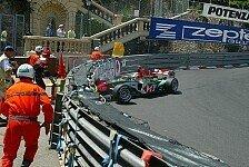Formel 1 - Monaco GP: Unf�lle