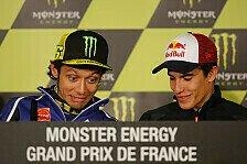MotoGP - Die Pressekonferenz von Le Mans: Rossi will verl�ngern