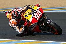 MotoGP - Bradl f�hrt zweitbeste Zeit in Le Mans: Letzte Trainingsbestzeit geht an Marquez