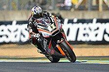 Moto2 - Wollte trainieren, aber der Schmerz war zu gro�: Sandro Cortese: Der harte Weg zur�ck