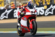 Moto2 - Rabat nach Sturz geschlagen: Rookie Folger f�hrt zur Pole in Le Mans