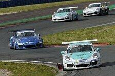 Carrera Cup - Champagner f�r das Team: Z�chling gewinnt sein erstes Porsche-Rennen