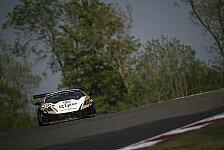 Blancpain GT Serien - Drei Marken auf dem Podium: Brands Hatch: Grasser-Sieg im Qualirennen