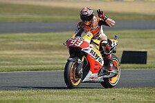MotoGP - Rossi verschenkt die F�hrung: Marquez nach f�nftem Sieg weiter unschlagbar