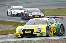 DTM - Als Tabellenf�hrer nach Ungarn: Budapest: Audi-Vorschau