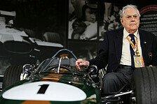 Formel 1 - Drei Weltmeistertitel: Video - Brabham blickt auf seine Karriere zur�ck