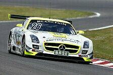ADAC GT Masters - Erstes Rennen im Mercedes-Benz SLS AMG: Deb�t f�r Alguersuari auf dem Lausitzring