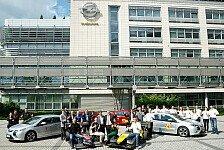 Formula Student - Vier Uni-Teams erhalten jeweils einen Ampera: Opel weitet Engagement aus