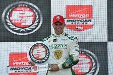 IndyCar - Hinchliffe knapp geschlagen: Indy 500: Ed Carpenter steht auf Pole