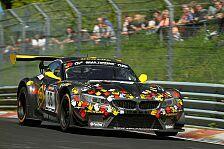 24 h N�rburgring - Chancen auf eine Platzierung an der Spitze: Christopher Br�ck im Walkenhorst-BMW
