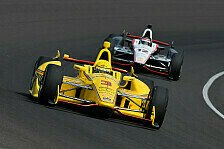 IndyCar - Vorteil Will Power: Titel-Showdown in Fontana