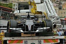 Formel 1 - Auto schwer zu kontrollieren: Sutil: Leitplanken-Ber�hrung war mein Fehler