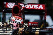 Formel 1 - Am eigenen Schopf aus dem Dreck gezogen: Lotus auf dem Weg zur�ck