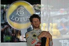 Formel 1 - Rennen gewinnen - aber mit wem?: Grosjean: Lotus-Abflug zum Saisonende?